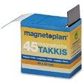 Магнитная лента TAKKIS, перманентная, в диспенсоре. Количество: 45 шт размером 20 х 30 мм. 15 503