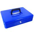 Кэшбокс Office Force, ключевой замок, синий