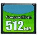 Карта памяти APACER Compact Flash 512Мb, 96.25123/AP512