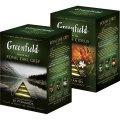 Чай Гринфилд зеленый Милк Оолонг , 20 пирамидок