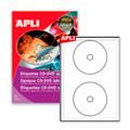 �������� ��� CD/DVD Apli 10601, d=18��, 50��
