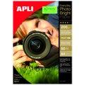 Фотобумага для струйных принтеров Apli А4, 50 листов, 200г/м2, глянцевая, 12239