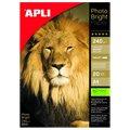 Фотобумага для струйных принтеров Apli А4, 20 листов, 240г/м2, глянцевая, 4454