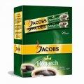 Кофе Якобс Монарх, растворимый. 26 пакетиков.