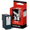 Картридж струйный Lexmark 18C0034E Большой черный картридж № 34 (Z815 / X5250)