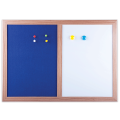 Доска магнитно-маркерная BRAUBERG с текстильным покрытием д/объявлений А3,342*484мм, син/бел,231995