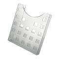 Подставка для буклетов HELIT, А4, бесцветная прозрачная 6102502