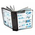 Модуль расширения для демосистемы Proмega Оffice 10 панелей, А4, черная, FDS006