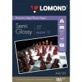 Lomond Фотобумага полуглянцевая, А4, 185 г/м2, 20 листов