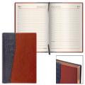 Ежедневник недатированный Brauberg Cayman, А6, 160 листов, комбинированная кожа