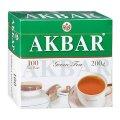 Чай Акбар Китайский, зеленый, 2г.х100пак.