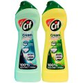 Универсальное чистящее средство Cif Active 250мл, лимон, с микрогранулами, крем
