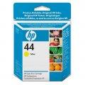 Картриджи для широкоформатной печати Картридж струйный HP 44 51644YE жел. для DgnJ 488/450
