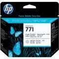 Струйный цветной картридж HP N771 light magenta для Designjet Z6200 775-ml oem