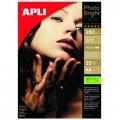 Фотобумага APLI, А4, 280г, 25л, глянец, для струйной печати 04458