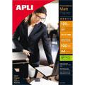 Фотобумага для струйных принтеров Apli Satin А4, 100 листов, 120 г/м2, матовая, 4133