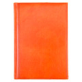 Ежедневник полудатированный Brunnen Оптимум Мадера оранжевый, А5, 180 листов
