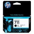 Картриджи для широкоформатной печати Картридж струйный HP 711 CZ133A чер. пов. емк. для DgnJ T120/52