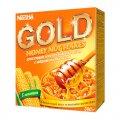 Готовый завтрак Nestle Gold Corn Flakes кукурузные хлопья с медом и арахисом, 300г