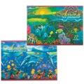 Альбом для рисования Hatber Дельфины, А4, 100 г/м2, 12 листов