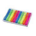 Клейкие закладки пластиковые Brauberg 5 цветов, 6х48мм, 200шт, в диспенсере