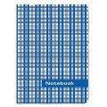 """Блокнот Notebook STAFF, А6, 110*147мм, """"Шотландка"""", тв. лам. обложка, 80л., 120953"""