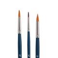 Кисть для рисования из синтетики Байкал, круглая, длинная ручка