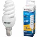 Энергосберегающая лампа Sonnen  компакт. T2, мощность (эквивалент) 11W(60Вт)