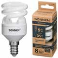 Энергосберегающая лампа Sonnen ECO Т2, мощность (эквивалент) 9W(35Вт)