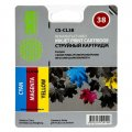 Совм. картр. Cactus для Canon CL-38/2146B001/2146B005 (colour)