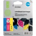 Совм. картр. Cactus для HP C9361HE (colour) №136