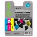 Совм. картр. Cactus для HP C8728AE (colour)  №28