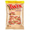 """Шоколадный батончик """"Twix"""" МиниБискитс, 184г"""