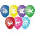 """Воздушные шары, 50шт, М12/30см, """"Детская тематика"""", пастель, шелк"""