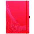Блокнот Notizio дл язаписей, мягк. обложка, А4,  клетка, красный 80л.
