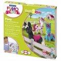 Набор для лепки из полимерной глины Fimo Kids create&play Пони, 4 цвета x42г