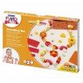 Набор для лепки из полимерной глины Fimo Kids create&play Цветы, 4 цвета x42г