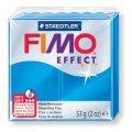 FIMO Effect полим. глина, запек., 57гр. цвет полупрозр.синий