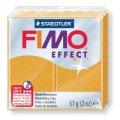 FIMO Effect полим.глина, запекаемая, 57 гр цв. зол. металлик