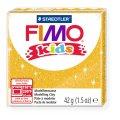 FIMO kids полимерная глина для детей, уп. 42 гр. цвет: блестящий золотой