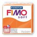 FIMO Soft полимерная глина, запекаемая, 57гр. цвет мандарин