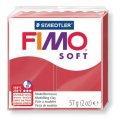 FIMO Soft полим. глина, запекаемая, 57 гр. цвет вишневый