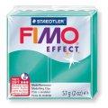 FIMO Effect полим.глина, запекаем, 57гр. цв. полупр. зелёный