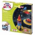Набор для лепки из полимерной глины Fimo Kids create&play Космос, 4 цвета x42г