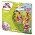 Набор для лепки из полимерной глины Fimo Kids create&play Принцесса, 4 цвета x42г