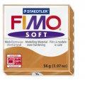 FIMO Soft полим. глина, запекаемая, 57 гр. цвет коньяк