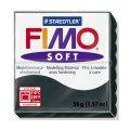 FIMO Soft полим. глина, запекаемая, 57 гр. цвет чёрный