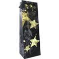 Пакет подарочный новогодний 10x9x33см