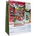Пакет подарочный новогодний 33x45.5x10см, EUX/140402