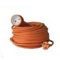 Удлинитель электрический Electraline 1 розетка, 30м